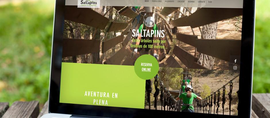 Nueva página web de Saltapins