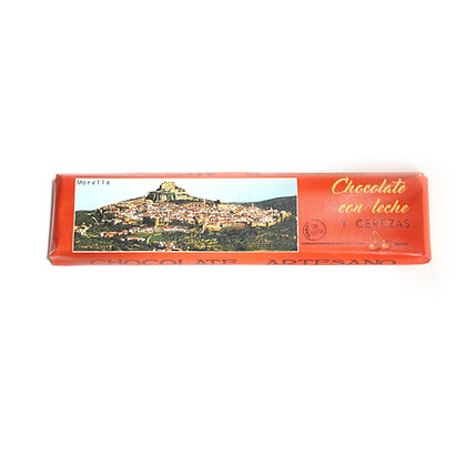 Chocolate con Leche y Cerezas (30% Cacao)