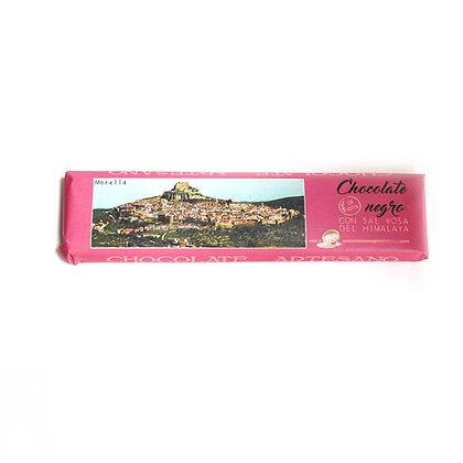Chocolate Negro con Sal Rosa (52% Cacao)