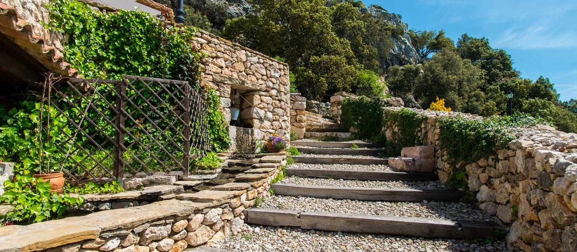 Escalera de Font d'Torres en Morella