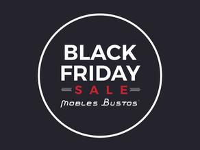 El Black Friday llega a Mobles Bustos