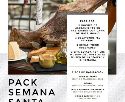 Disponible el Pack Semana Santa del Faixero