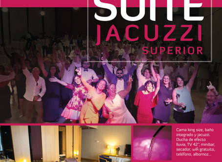 Sorteamos una noche en nuestra Suite Superior en las redes sociales
