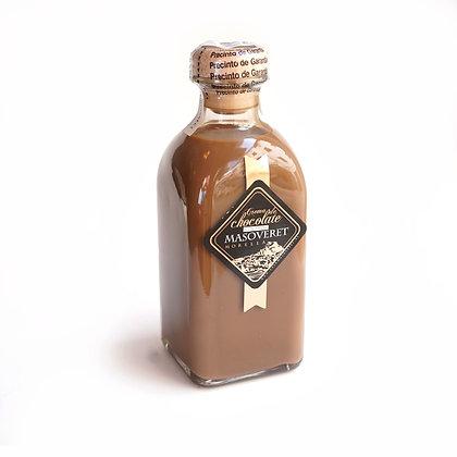 Crema de Chocolate con Fresas