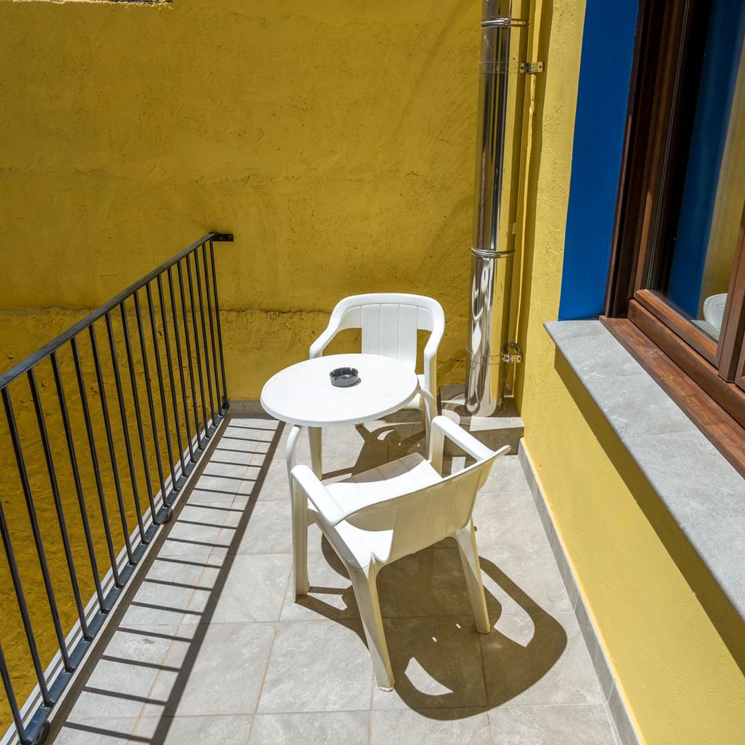 Apartamentos las suertes, la dehesa terraza