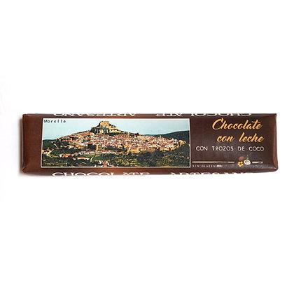 Chocolate con Leche y Coco (30% Cacao)