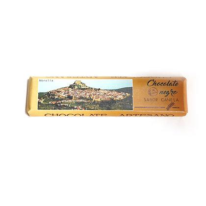 Chocolate Negro con Canela (52% Cacao)