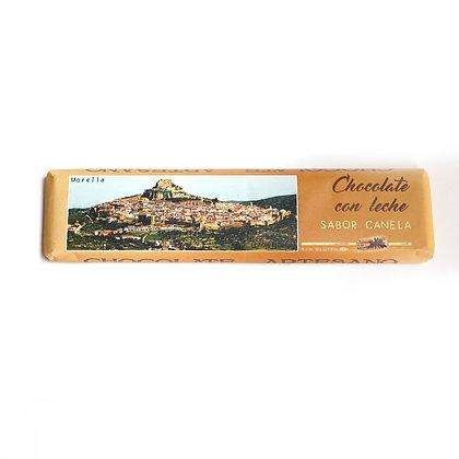 Chocolate con Leche y Canela (30% Cacao)