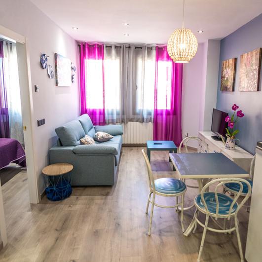 Apartamentos las suertes, en Cantavieja