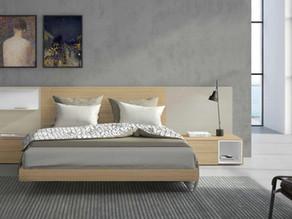 6 dormitorios con acabados en madera natural y lacados