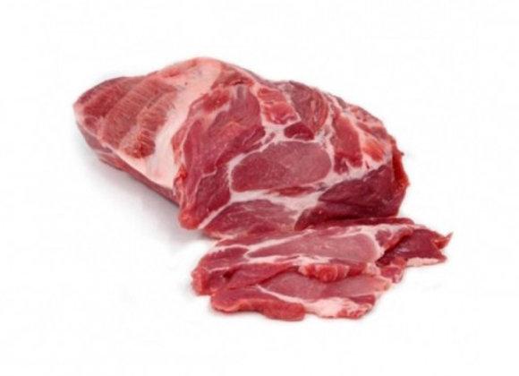 Cabezada de lomo de cerdo
