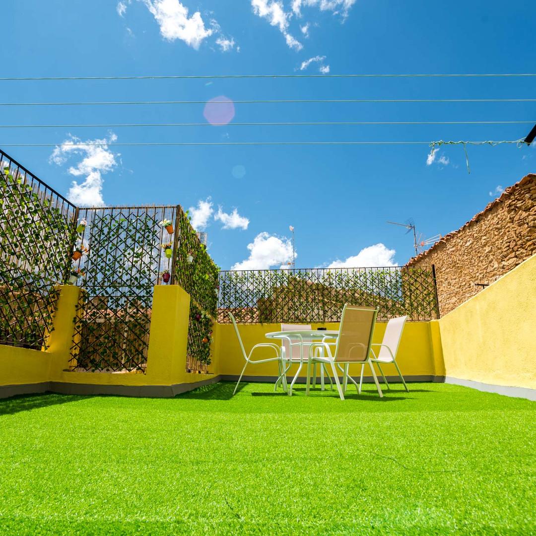 Apartamentos las suertes, el huerto terraza