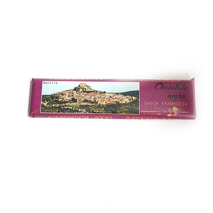 Chocolate Negro con Frambuesa (52% Cacao)