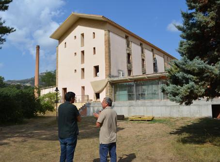 Les obres del Centre de Desenvolupament i Acceleració Turística Fàbrica Giner-Els Ports avancen a bo