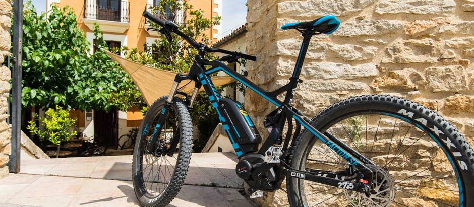 Cinco razones para utilizar una bicicleta de montaña eléctrica