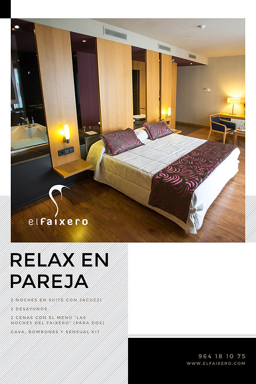 RELAX PACK WITH YOUR PARTNER