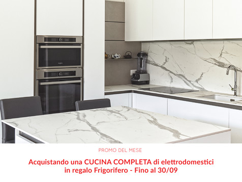 Da Delta Design frigo in regalo con l'acquisto della tua nuova cucina