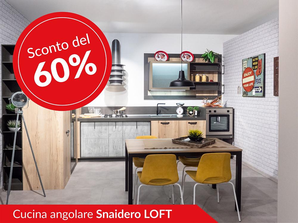 Cucina angolare Snaidero modello Loft