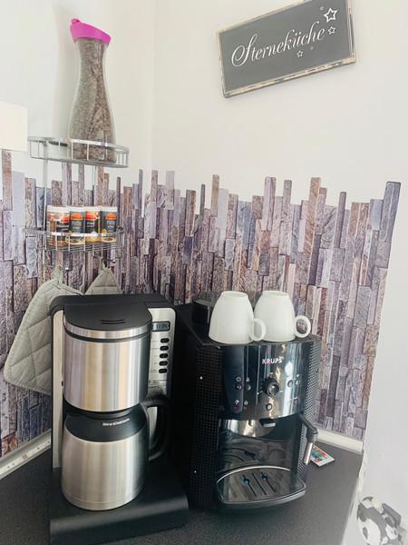 Kaffeemaschine & Kaffeevollautmat