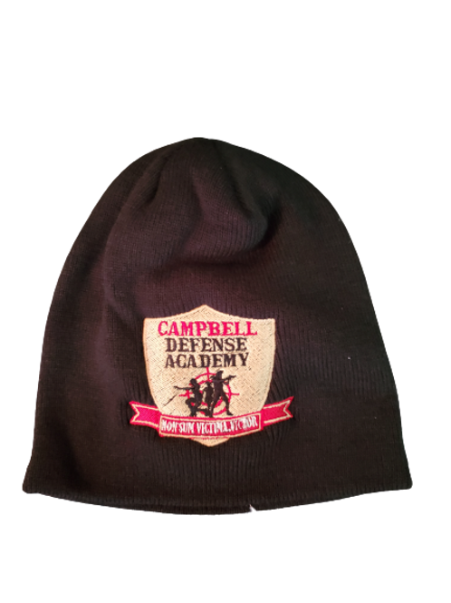 Campbell Defense Academy Beanie