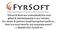 FYRSOFT REVIEW