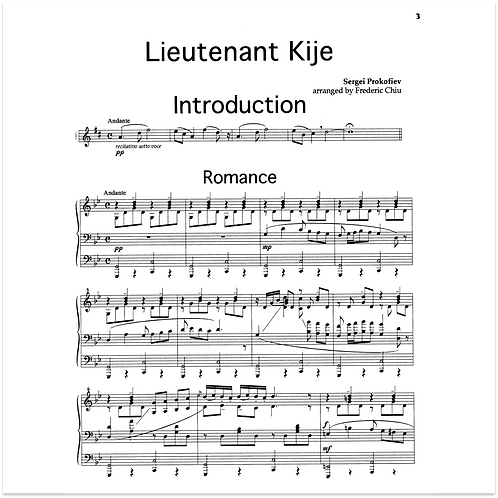 Lieutenant Kije Suite