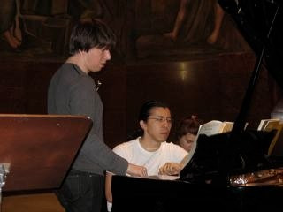 FC and Joshua Bell in Milan