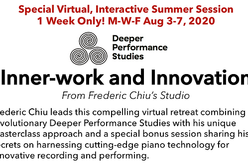 Inner-work and Innovation Week: $50 Application Fee