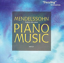 Mendelssohn Piano Sonatas Chiu record co