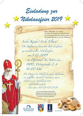 Nikolausfeier 2019