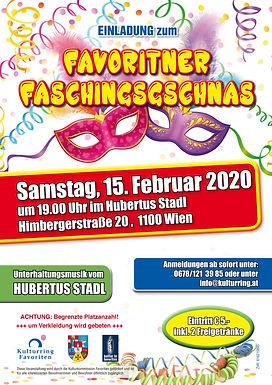 Faschingsgschnas 2020