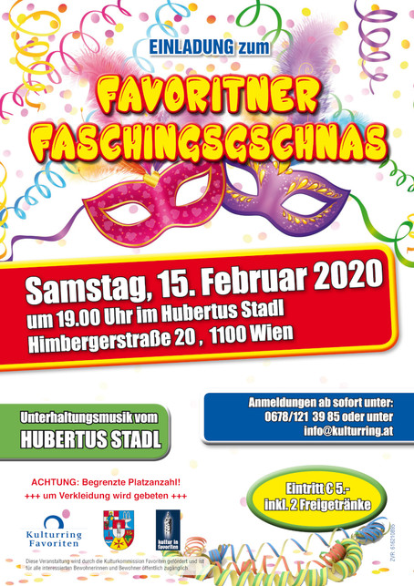 Faschingsgschas 2020