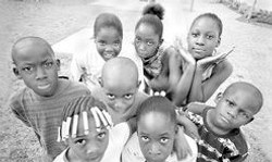 Faces of the Youth in Need