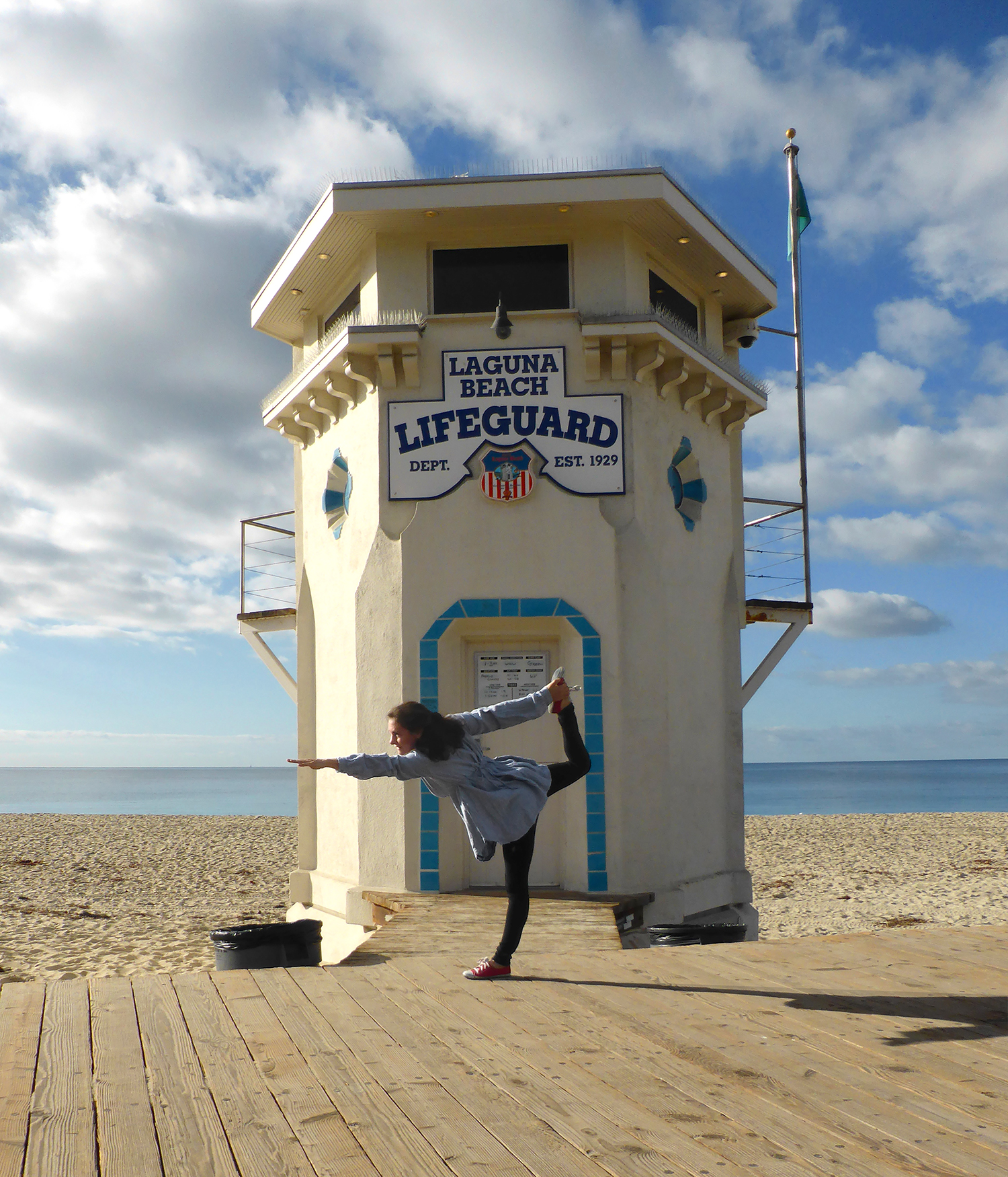 YOGI LIFEGUARD LAGUNA BEACH