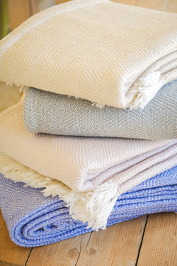 Recycled cosy blankets