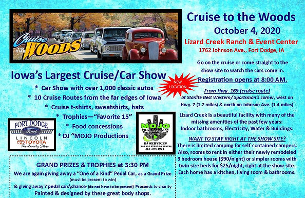 Cruise to the Woods Flyer