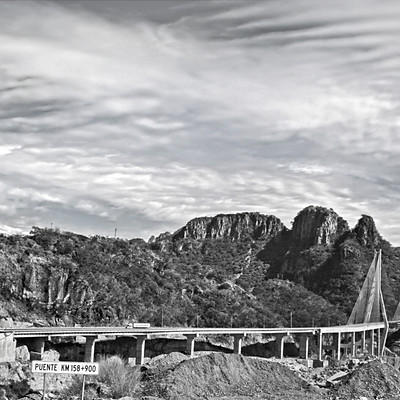 Puente Baluarte- Baluarte Bridge