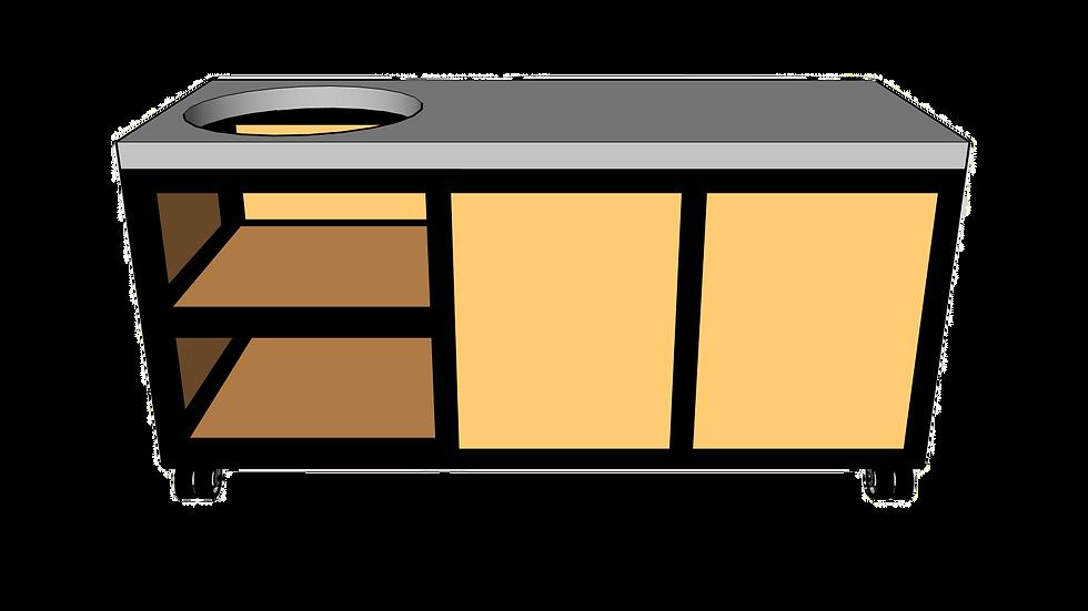 Buitenkeuken voor kamado links 180cm