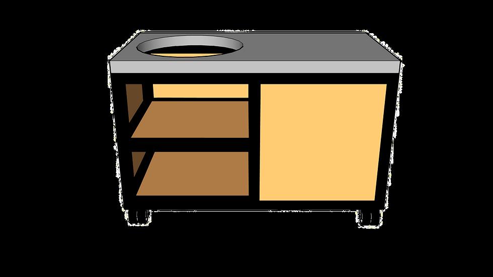 Buitenkeuken voor kamado links 135cm