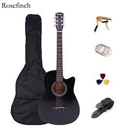 38/41 inch Acoustic Guitar Folk Guitar for Beginners