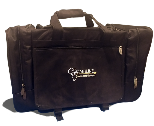 Safariline Embroidered Duffel Bag