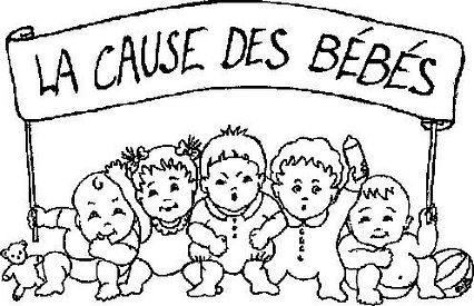Dessin La Cause des bébés