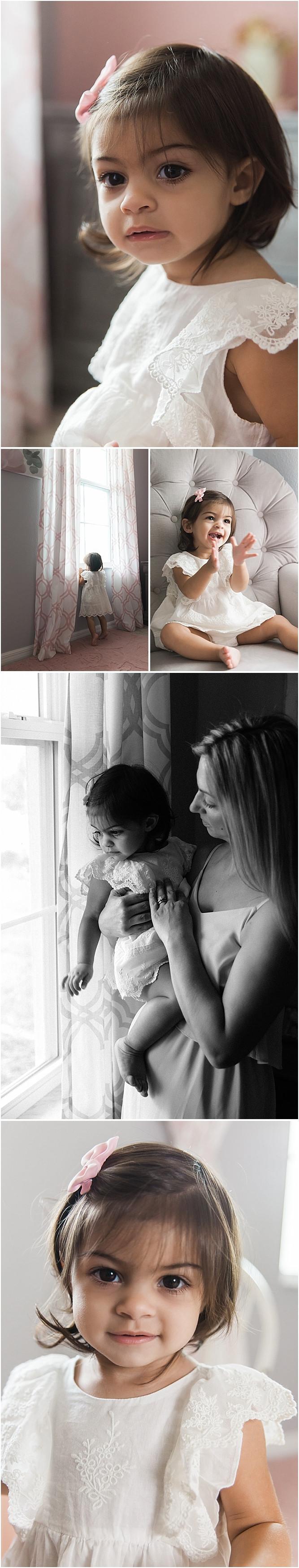 Sarasota Baby Photographer Milestone session one year old Smash Cake