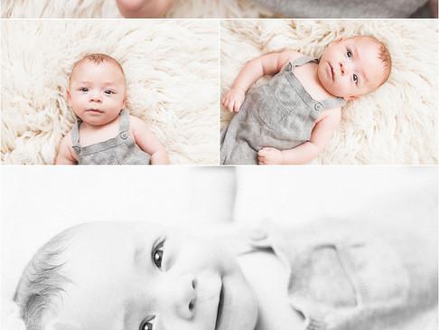 Lucas + James Twin Milestone Session | Sarasota Family Photographer