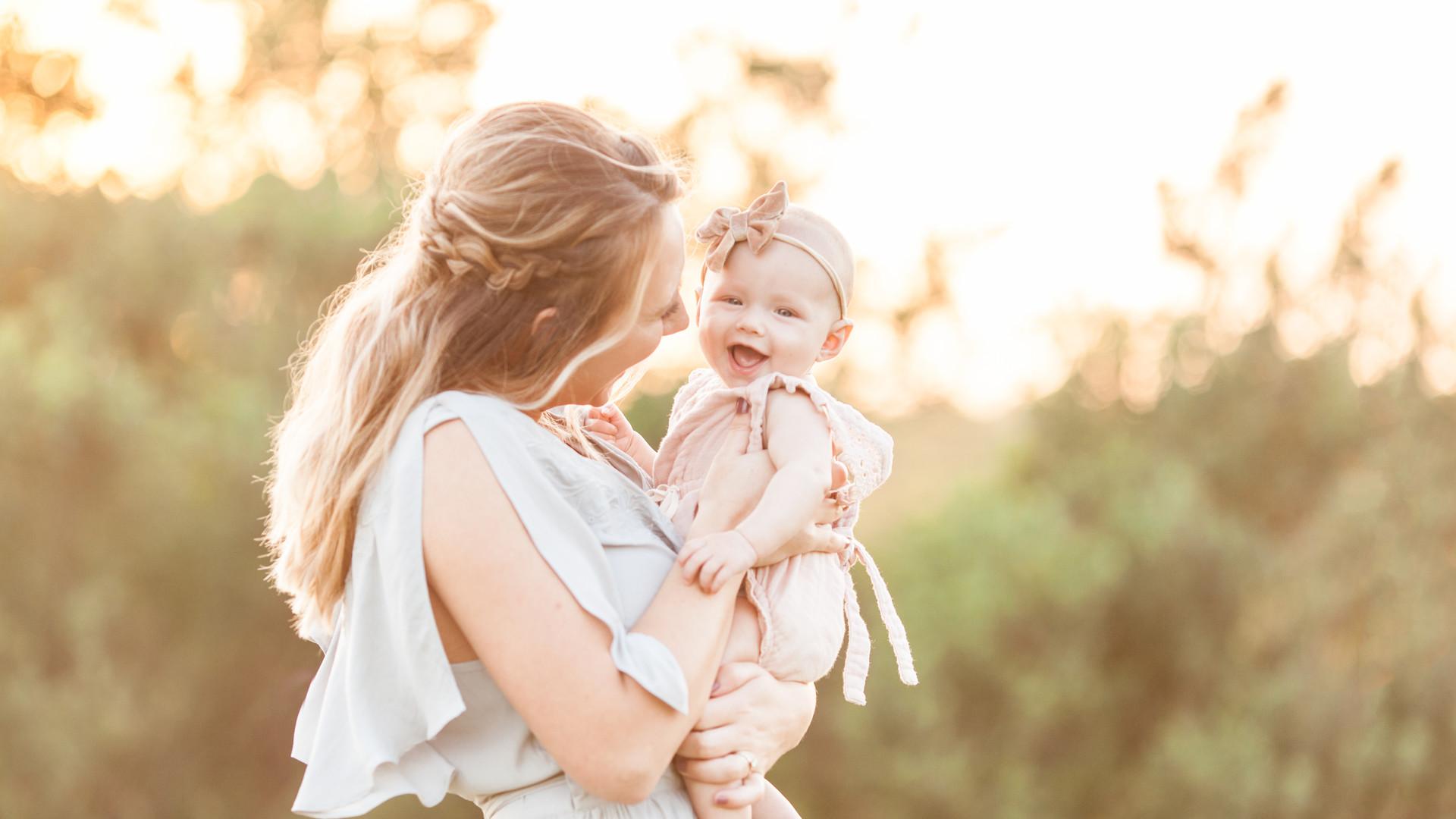 Mother and daughter | Sarasota newborn photographer