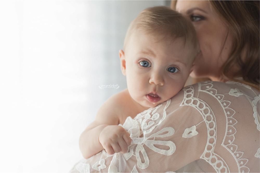 Sarasota Family Photographer | Jen Godshall Photography | Graham Sitting Milestone Session