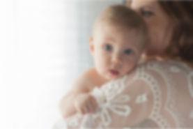 sarasota family photographer | mother and baby