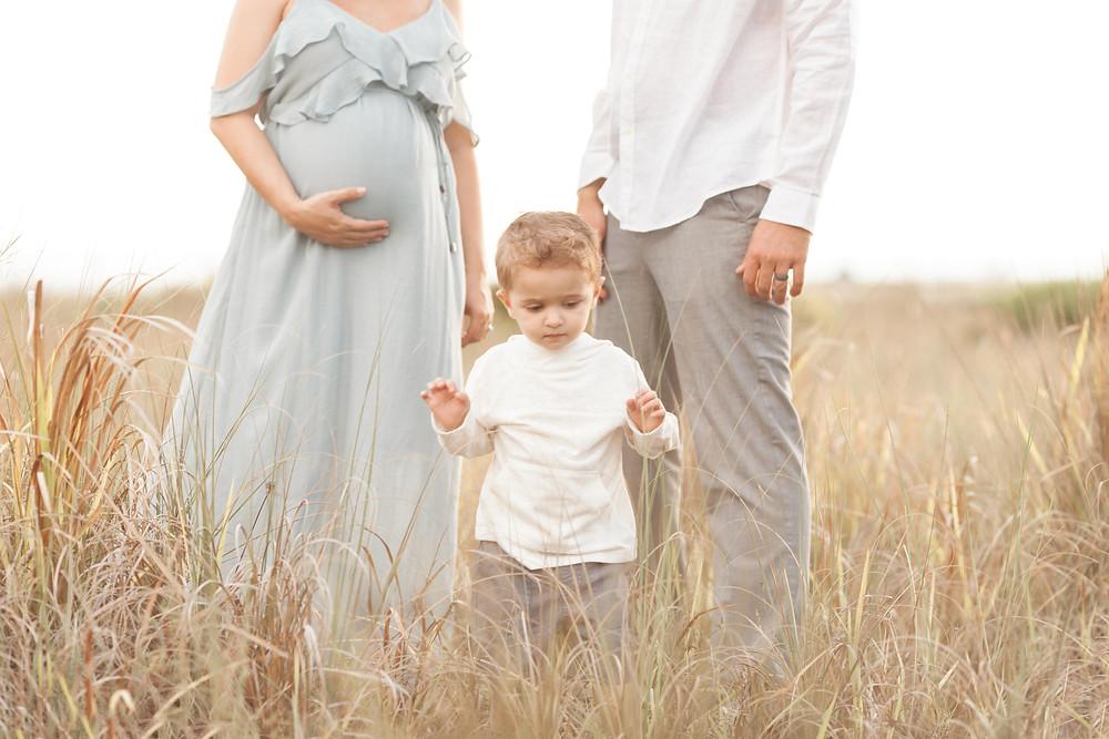 Siesta Key beach pregnancy session | Sarasota Newborn Photographer | Sarasota Maternity Photographer