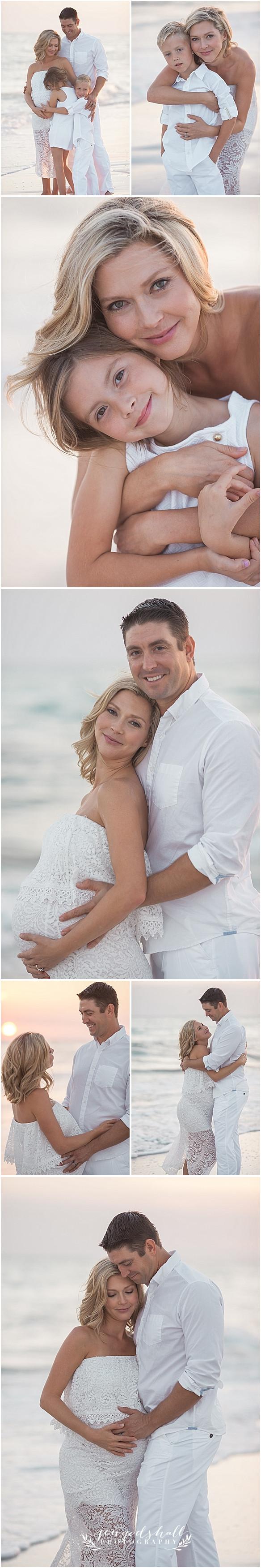 Sarasota Maternity Photographer - family beach photos