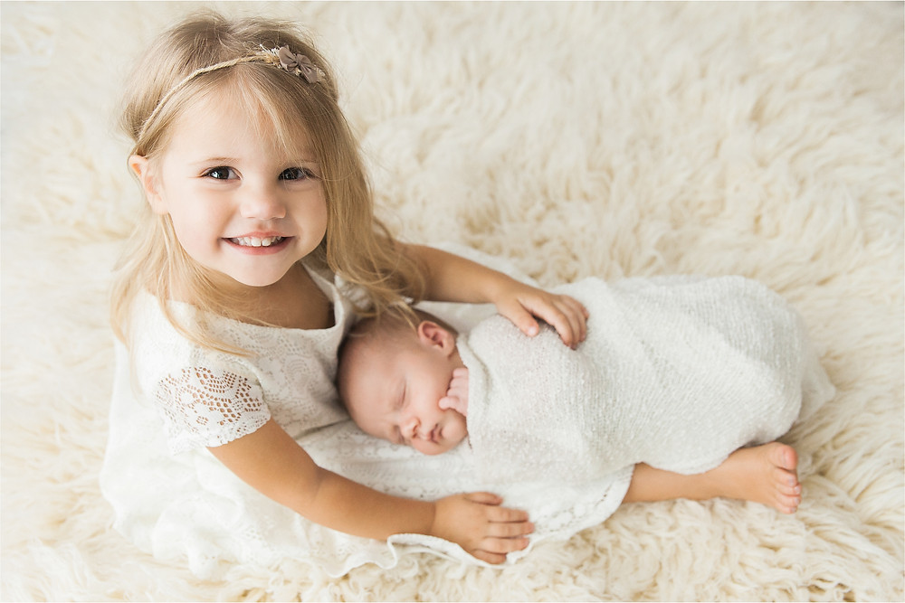 Sarasota Newborn Photographer Beautiful Family in home lifestyle baby session